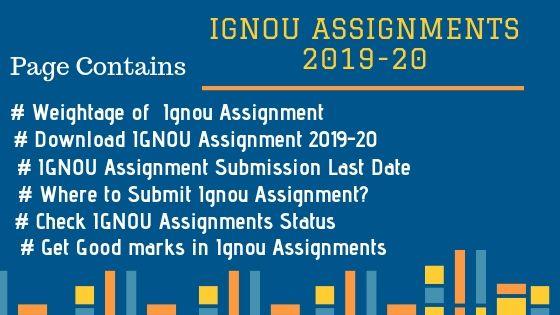 Ignou Assignment 2021-22