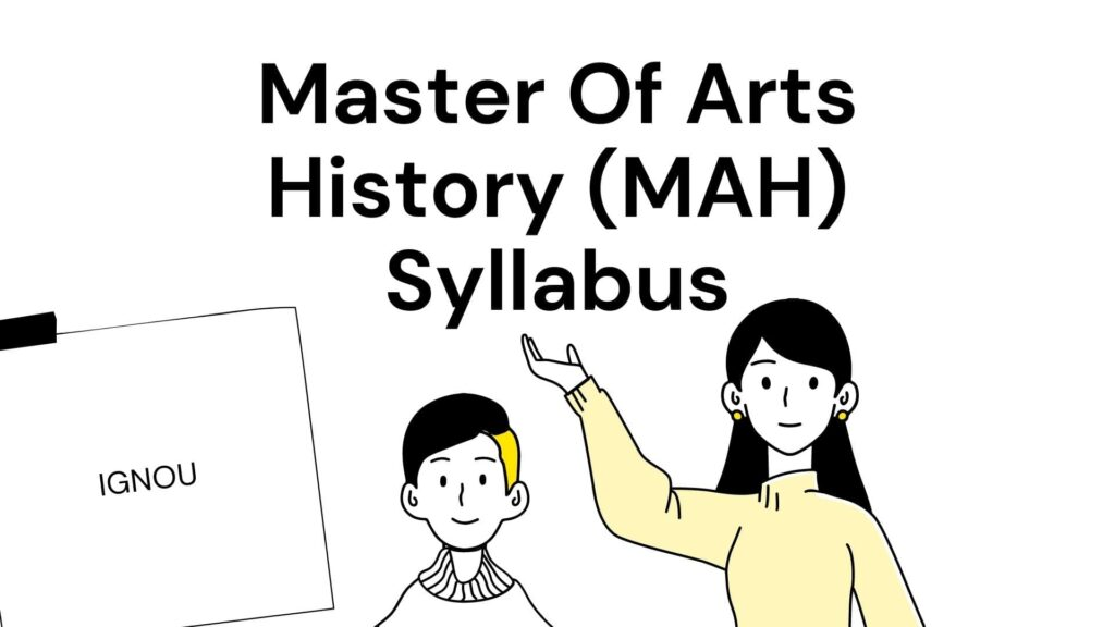 ignou ma history syllabus
